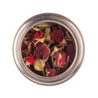 PERSIAN RED ROSE BUD - Can