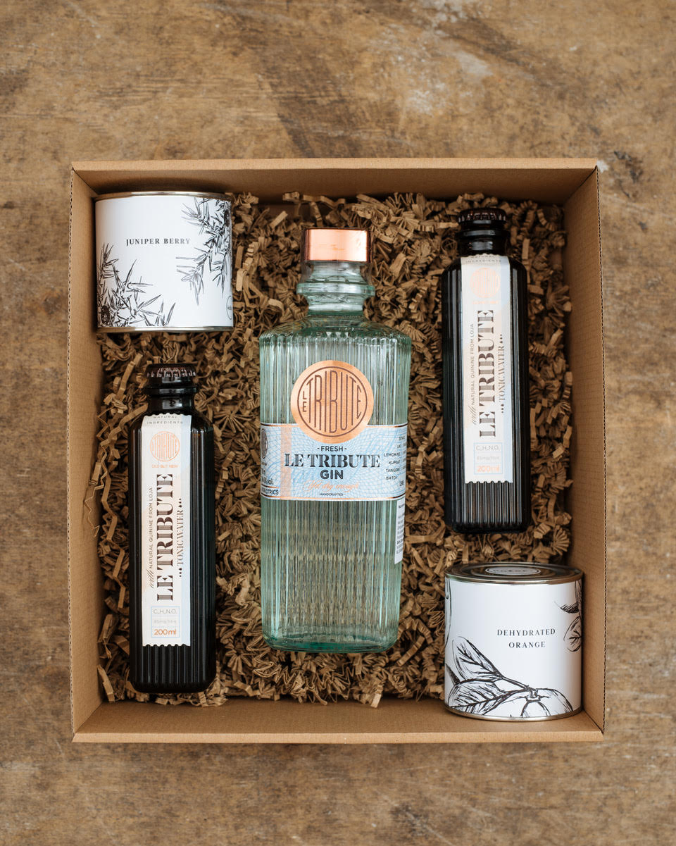 Le Tribute 0,70 l Gin Box