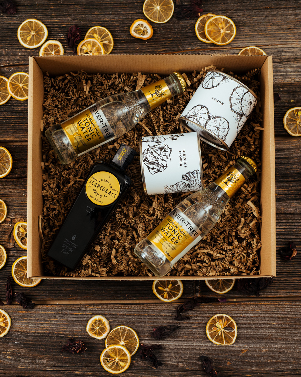 Scapegrace Gold Mini Gin Box
