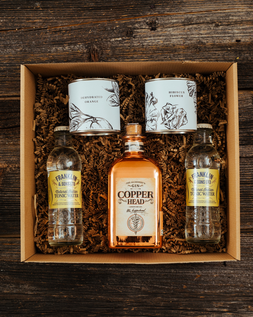 Copperhead Gin Box