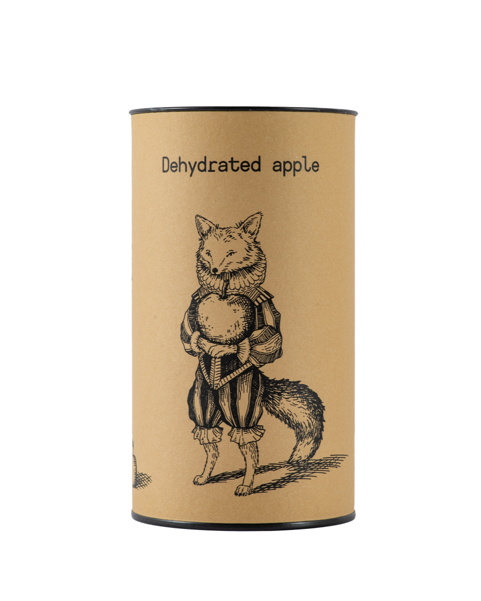 APPLE dehydrated - kofer. eco-packaging