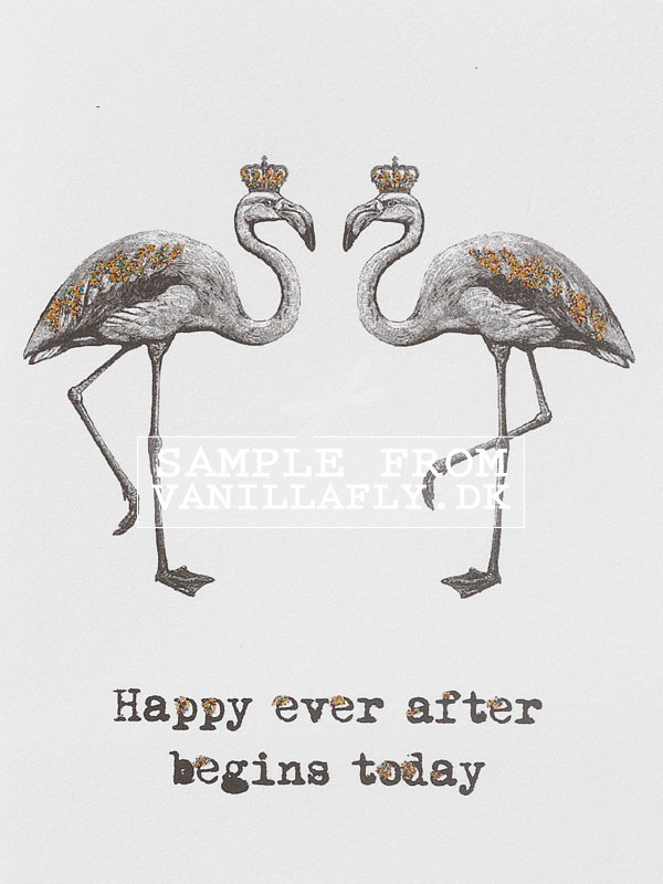 Happy ever after begins today B&W