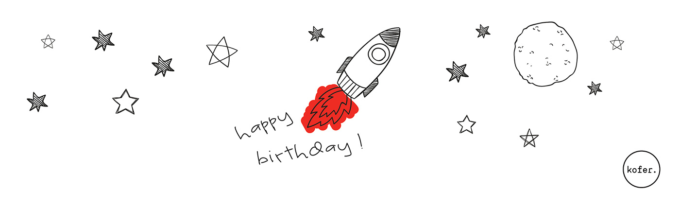 Birthday Rocket